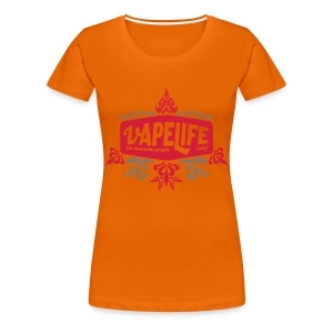 Vapelife - for awesome people - Frauen Premium T-Shirt