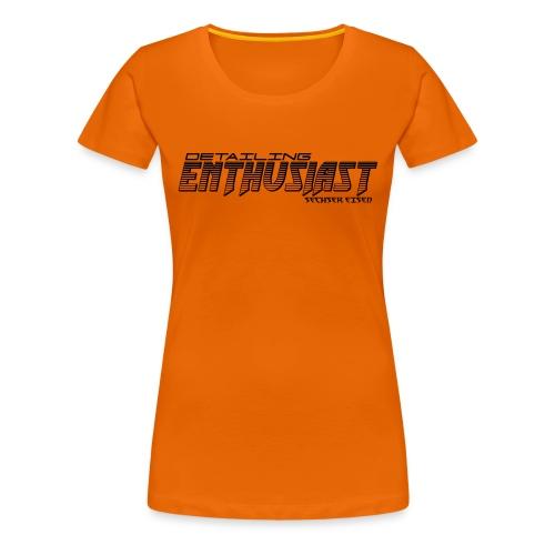 Detailing BLACK - Frauen Premium T-Shirt
