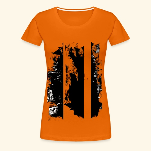 Brush Art - Frauen Premium T-Shirt