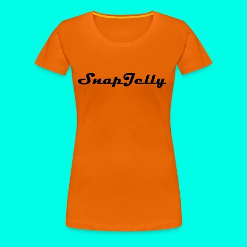 SnapJelly - Women's Premium T-Shirt