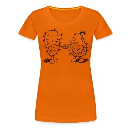 shakehand, Medi-Kakteen - Frauen Premium T-Shirt