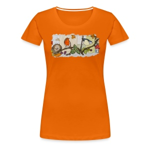 Autumn Scene - Women's Premium T-Shirt