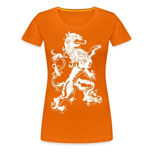 NL Leeuw Koningsdag Rechts - Vrouwen Premium T-shirt