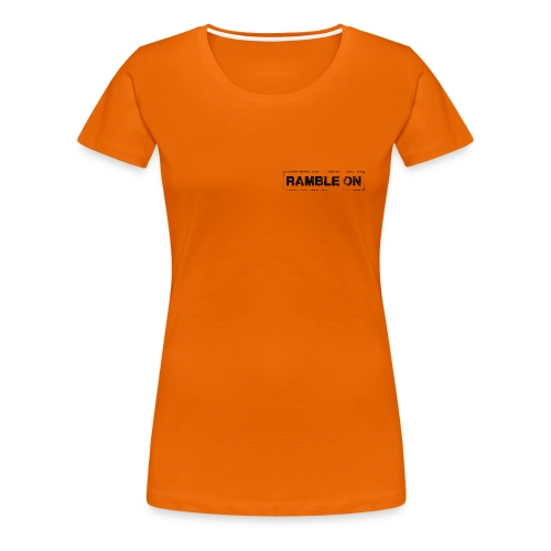 Ramble On Stamp - Women's Premium T-Shirt