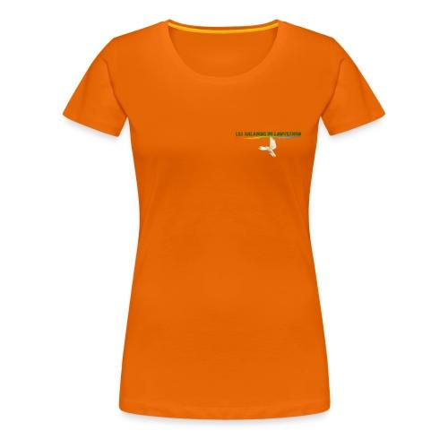 Lanvezhon Colombe - T-shirt Premium Femme