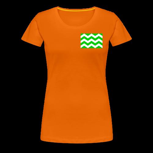 Vlag westland kassen - Vrouwen Premium T-shirt