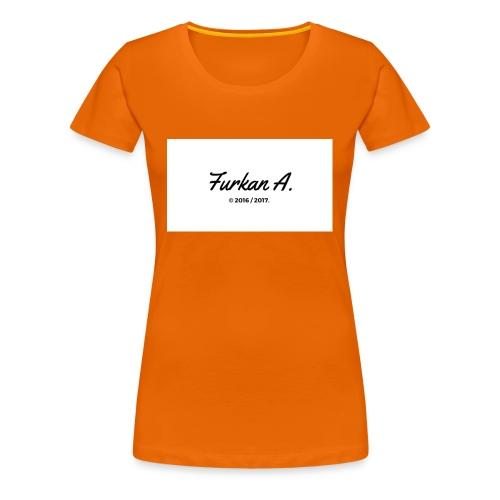Furkan A - Zwarte sweater - Vrouwen Premium T-shirt