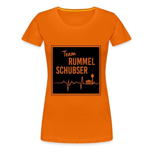 Team RS in eckig und s/w - Frauen Premium T-Shirt
