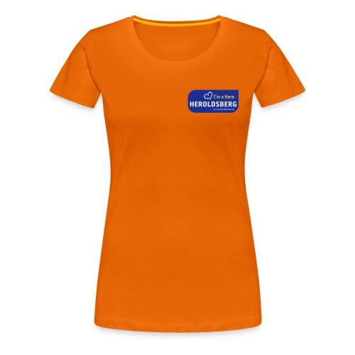 I'm a Hero - Heroldsberg - Frauen Premium T-Shirt