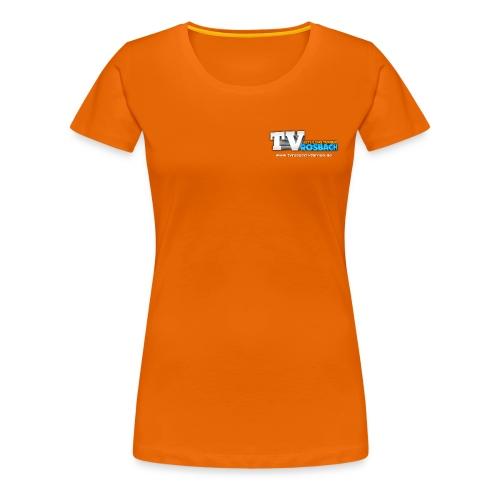 TVROSBACH Logo Vorne - Frauen Premium T-Shirt