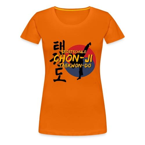 taekwondo2 - Frauen Premium T-Shirt