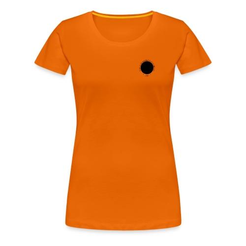 Tujen kiekkologo - Naisten premium t-paita