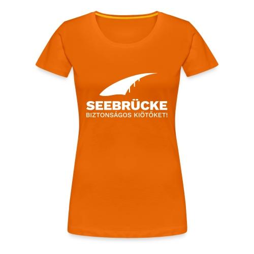 SB Logo HU - Frauen Premium T-Shirt