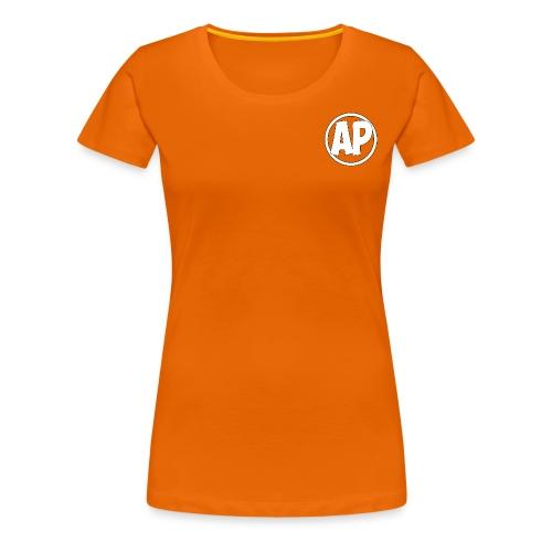Airplayz logo - Vrouwen Premium T-shirt