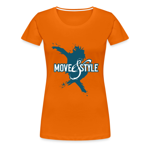 Move and Style Dance Academy - Frauen Premium T-Shirt