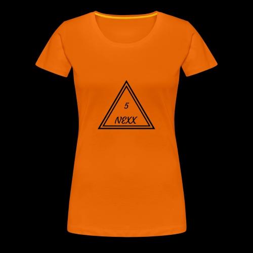 5nexx triangle - Vrouwen Premium T-shirt