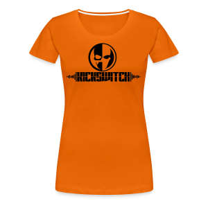 KickSwitch Logo with text - Women's Premium T-Shirt
