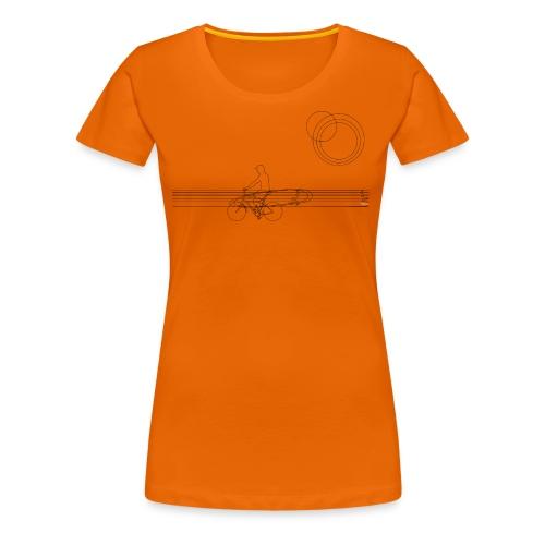 surfininthemorning - Frauen Premium T-Shirt