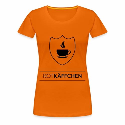ROTKÄFFCHEN-Logo - Frauen Premium T-Shirt