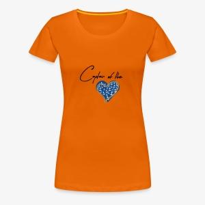 Herzenskapitän - Frauen Premium T-Shirt