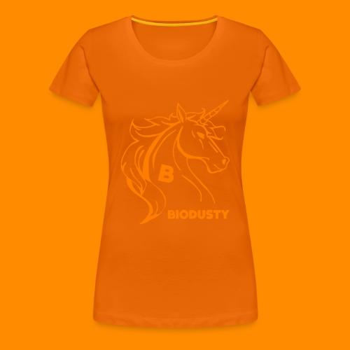 BIODUSTY UNICORN VROUWENSHIRT - Vrouwen Premium T-shirt
