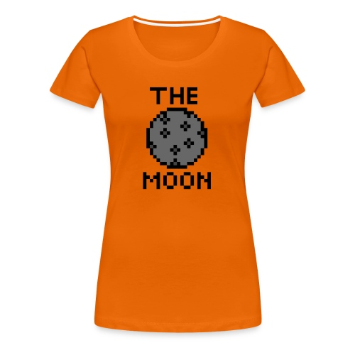 The Moon - Frauen Premium T-Shirt