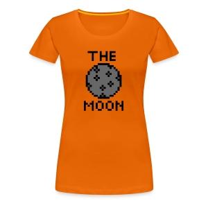 The Moon - Frauen Premium T-Shirt