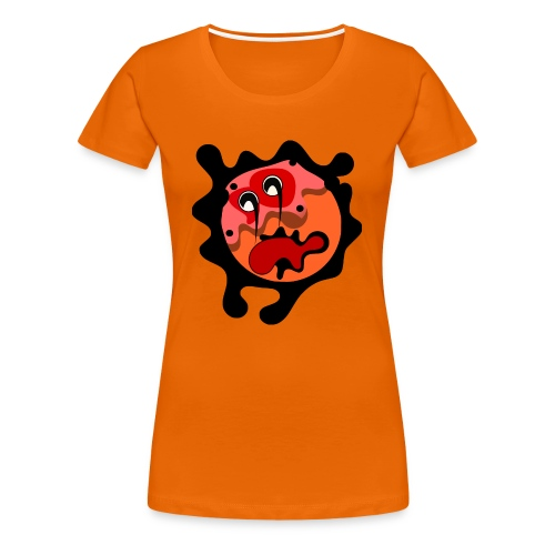 scary cartoon - Vrouwen Premium T-shirt