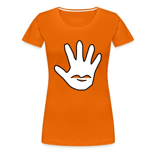Talk to the Hand - Premium T-skjorte for kvinner