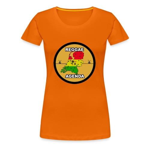 reggae agenda PSD web 2017 PNG - Vrouwen Premium T-shirt