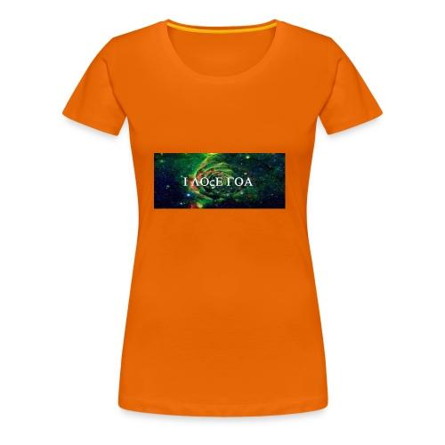 I LOVE GOA - Frauen Premium T-Shirt