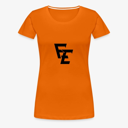 FE logo - Women's Premium T-Shirt