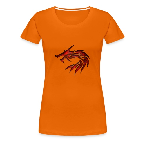 dragon tribal 1a - T-shirt Premium Femme