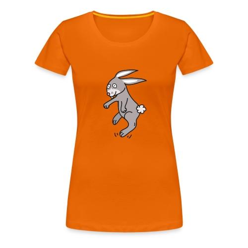 Funny Bunny Lustiges Häschen Comic Style - Frauen Premium T-Shirt