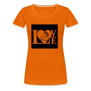 Love Penis - Frauen Premium T-Shirt