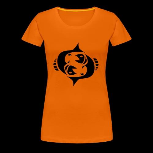 STERNZEICHEN FISCH - Frauen Premium T-Shirt