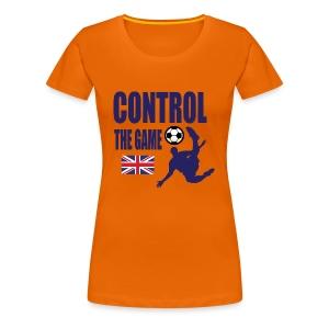 Control the game national Team England 2018 - Women's Premium T-Shirt