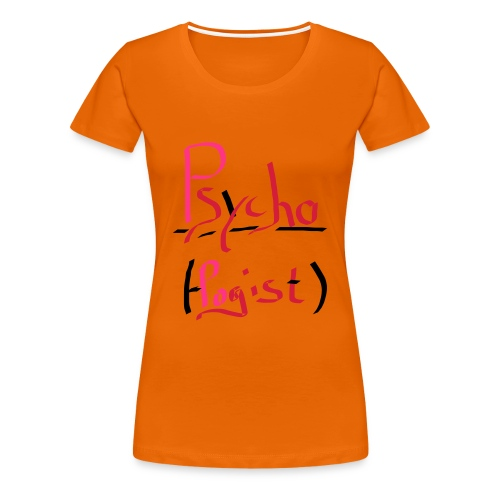 Psychologist - Frauen Premium T-Shirt