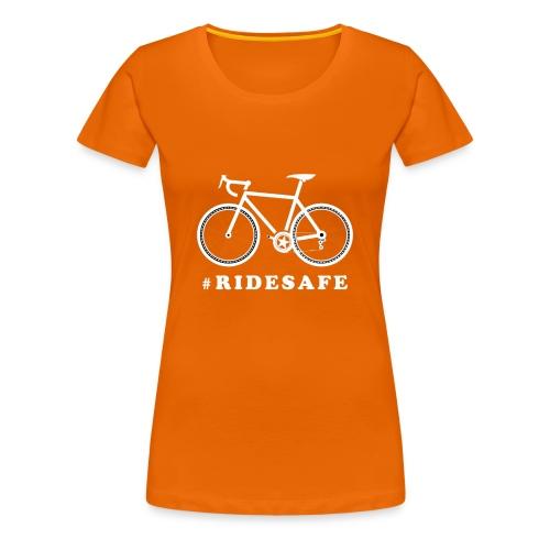 Road bike - ridesafe - Maglietta Premium da donna