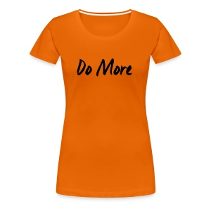 dark logo transparent background - T-shirt Premium Femme