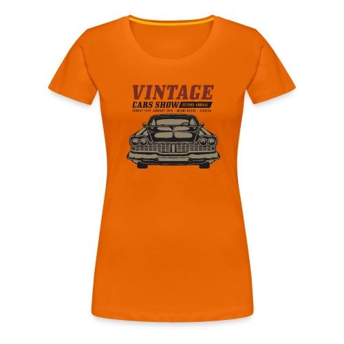 Muscle Car Show - Frauen Premium T-Shirt