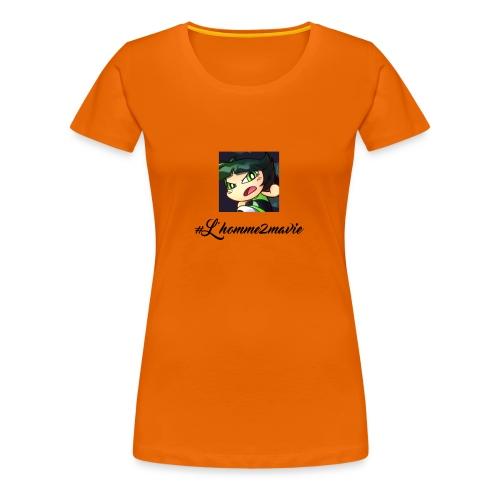 zerzouzer - T-shirt Premium Femme