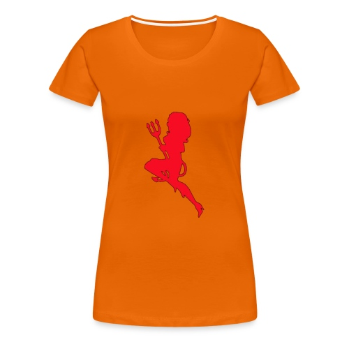 Duiveltje vrouw - Vrouwen Premium T-shirt