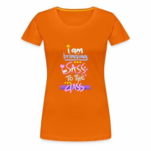 1st Day of School Tee Design - Women's Premium T-Shirt