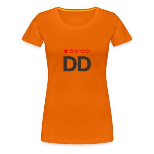 Dårligdommerne simpelt logo - Dame premium T-shirt