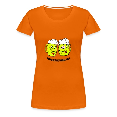 Beer Friends Forever T Shirt - Women's Premium T-Shirt
