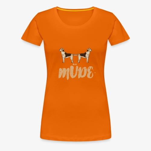 Dog Tired - Women's Premium T-Shirt