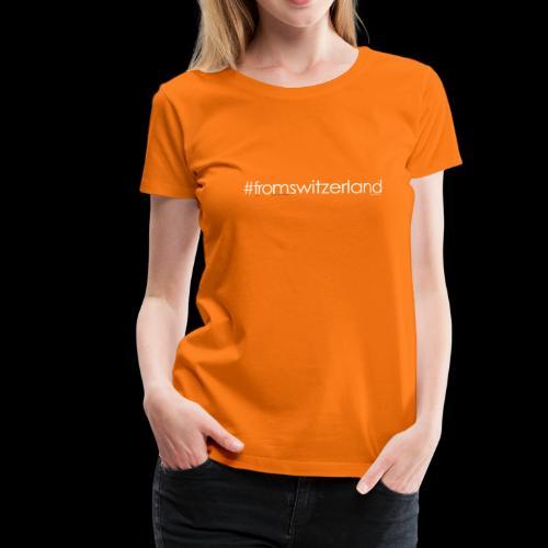 switzerland - T-shirt Premium Femme