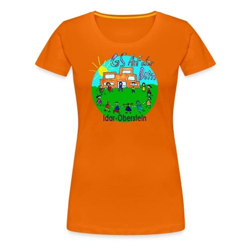 Logo GS Auf der Bein Idar-Oberstein - Frauen Premium T-Shirt