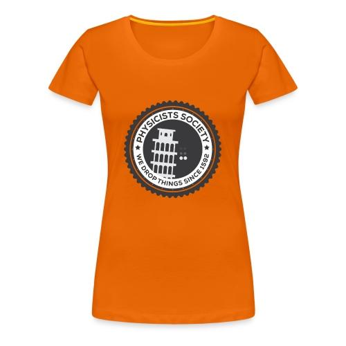 Physicists society - Women's Premium T-Shirt